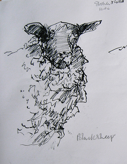 Animal_BlackSheep_sketch